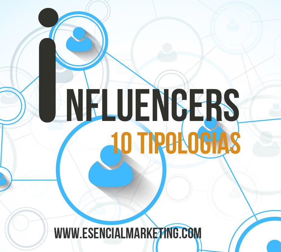 10 tipologías de influencers