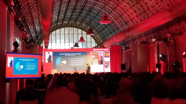 Esencial, the Social Media agency at the Red Hat forum 2017